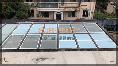 中华园锦苑系统阳光房施工图