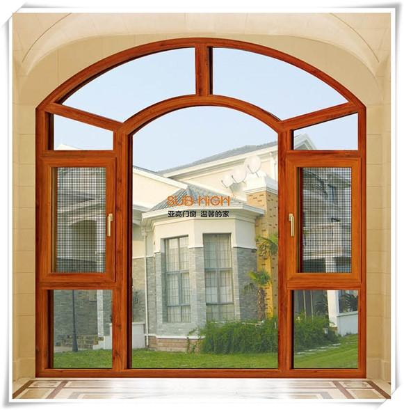 绵阳木铝复合窗纱一体