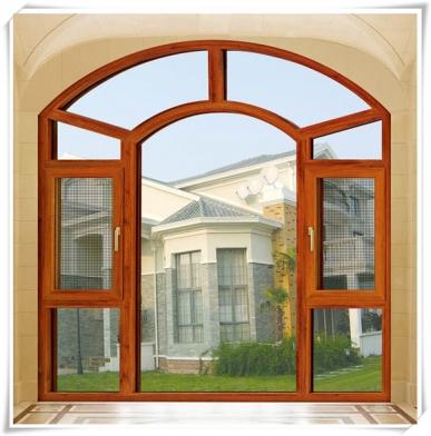 木铝复合窗纱一体